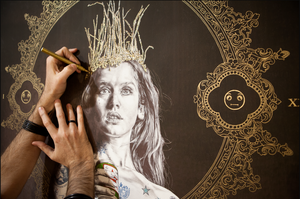 'Queen's Time Out I - Beer Edition'  | Gabriel Moreno | Limited Edition Print