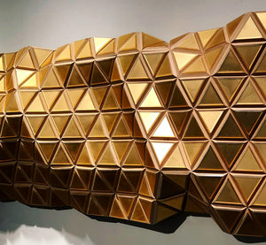 'Golden Karat' | Hugo G. Urrutia | Sculpture