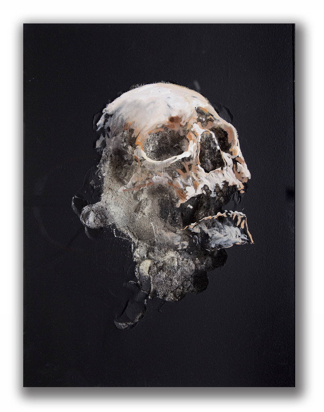 Wound in Black III | Juan Miguel Palacios | Painting