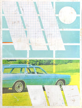 Load image into Gallery viewer, Blue Station Wagon | Kareem Rizk | Mixed Media