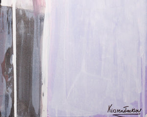 'Monochrome Love Series 2' | Kirsten Jackson | Painting