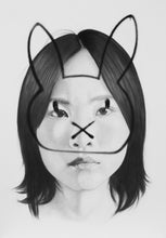 Load image into Gallery viewer, Bunny Tag | Lantomo | Drawing