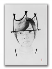 Load image into Gallery viewer, 'Tag Crown' | Lantomo | Drawing