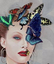 Load image into Gallery viewer, 'Butterfly 7' | Minas Halaj | Painting