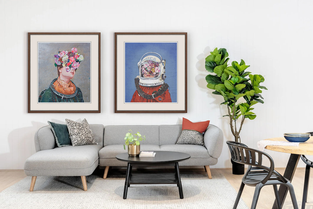 Astronaut Duo (Limited Edition) | Minas Halaj | Limited Edition