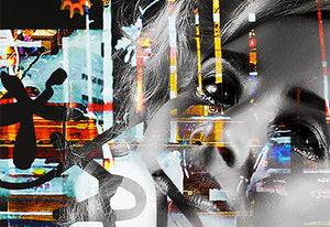 Broadway | Paco Raphael | Painting & Digital Collage