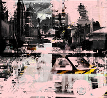 Load image into Gallery viewer, Melrose Avenue | Paco Raphael | Painting & Digital Collage
