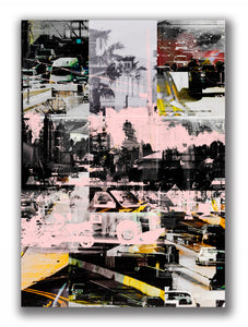 Melrose Avenue | Paco Raphael | Painting & Digital Collage