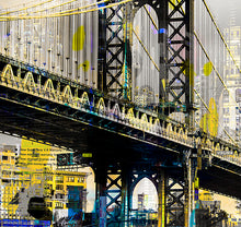 Load image into Gallery viewer, Under the Bridge | Paco Raphael | Painting & Digital Collage