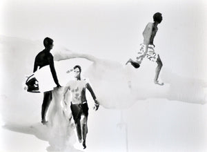 'Beach Boys Moving' | Rikki Kasso | Painting