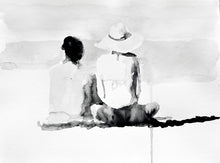 Load image into Gallery viewer, 'Vacation Couple Study' | Rikki Kasso | Painting