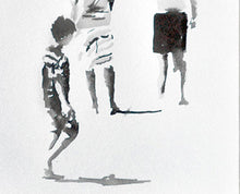 Load image into Gallery viewer, 'Boys on the Beach' | Rikki Kasso | Painting
