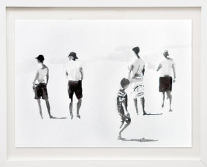 'Boys on the Beach' | Rikki Kasso | Painting