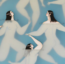 Load image into Gallery viewer, Japanese Swimmers | Sonia Alins | Painting