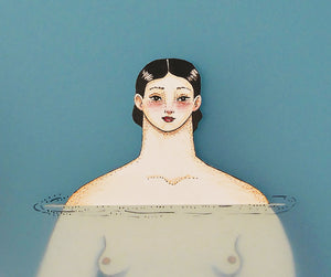 Japanese Swimmers | Sonia Alins | Painting