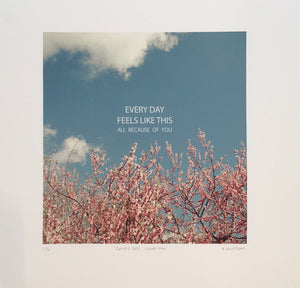 Every Day I Love You  | Ali Mitton | Limited Edition Print