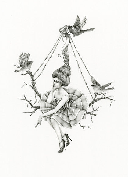 Up in the Air |  Courtney Brims | Limited Edition Print