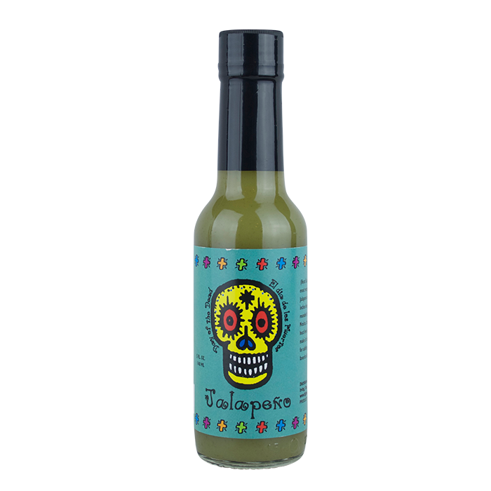Day of the Dead Jalapeno Hot Sauce