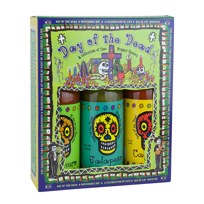 Day of the Dead 3 pk (Cayenne, Habanero, Jalapeno)