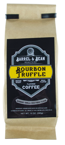 Barrel & Bean Bourbon Truffle Coffee