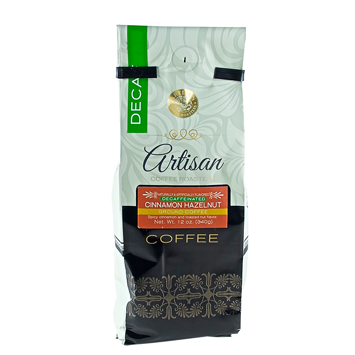Artisan Cinnamon Hazelnut DECAF Coffee