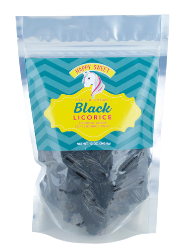 Happy Sweet Unicorn Black Licorice