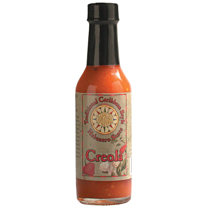 Spice Exchange Creola Traditional Carribean Habanero Pepper Sauce