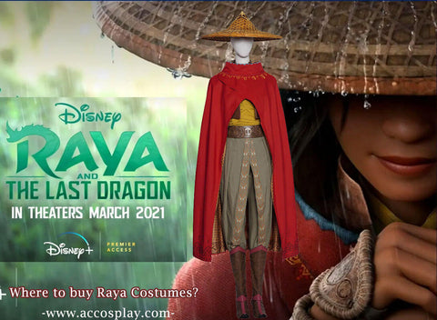 Dress Like Raya And The Last Dragon With Raya Costume
