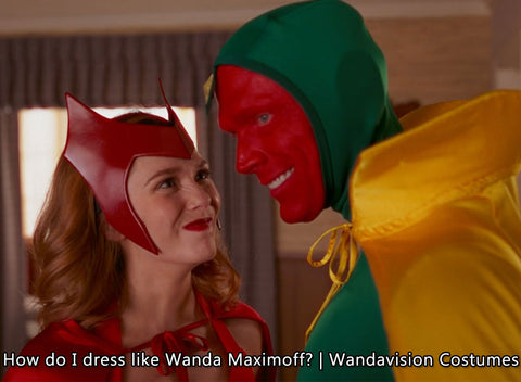 How do I dress like Wanda Maximoff? | Wandavision Costumes