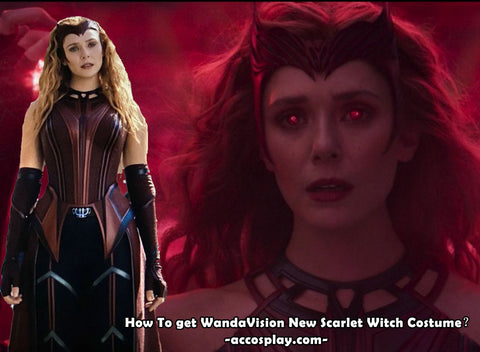 How To get WandaVision New Scarlet Witch Costume