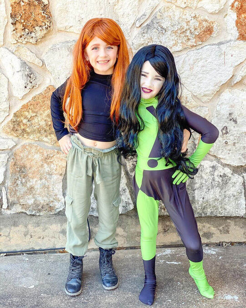 Kim Possible Shego Costumes Kids