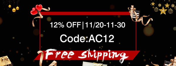 ACcosplay Black Friday Big Sale-12% OFF