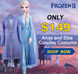 Anna and Elsa Cosplay Only $149