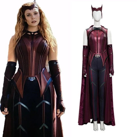 WandaVision New Scarlet Witch Costume