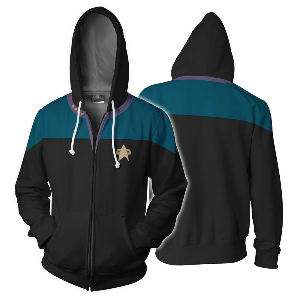 Star Trek: Deep Space Nine / Voyager 3D hoodie Cosplay - ACcosplay