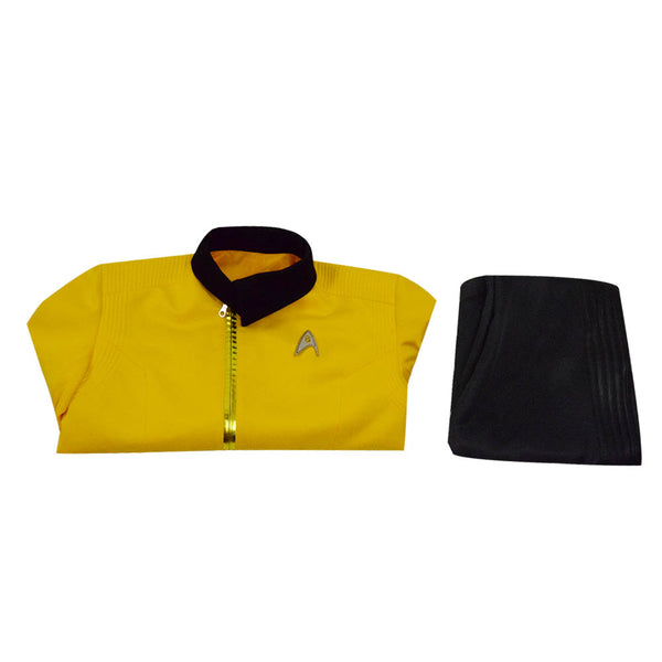 Star Trek: Discovery Christopher Pike Yellow Uniform Cosplay Costume - ACcosplay