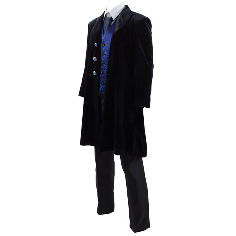 Doctor Who 12th Doctor Coat Dr Mysterio Cosplay Costume Velvet Coat For Sale - ACcosplay