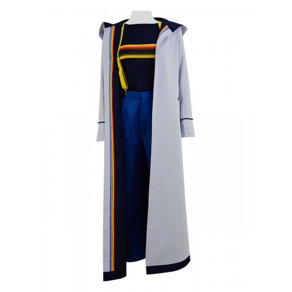 Doctor Who Thirteenth 13th Doctor New Colorful Cosplay Costume