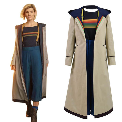 Doctor Who Thirteenth 13th Doctor new Colorful Costume Halloween