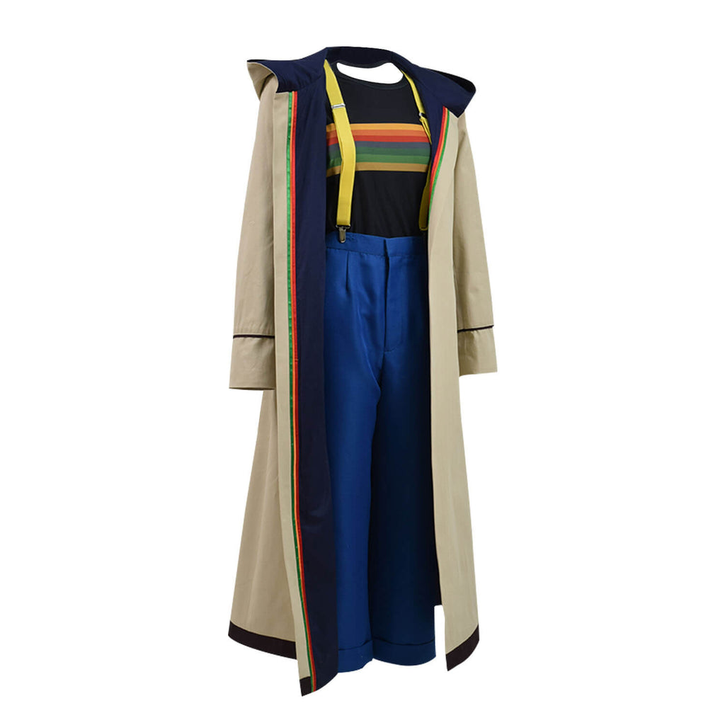 Doctor Who Thirteenth 13th Doctor new Colorful Costume Halloween - ACcosplay