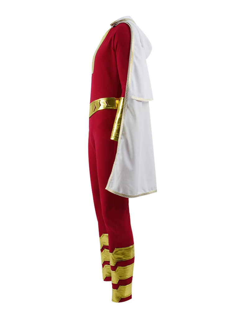 DC New 52 Shazam Billy Batson Captain Marvel Cosplay Costume - ACcosplay