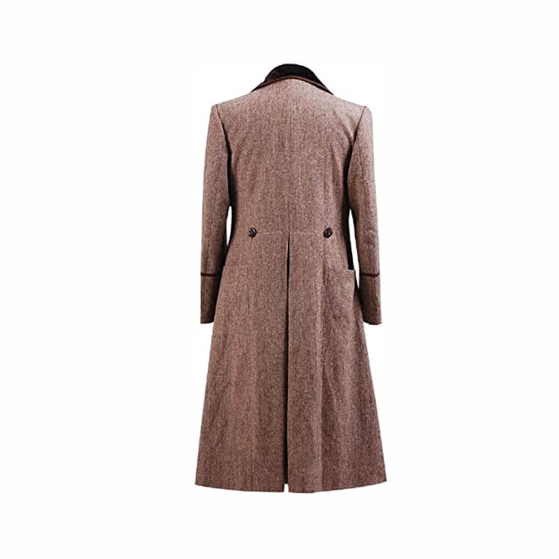 Doctor Who Fourth 4th Doctor Brown Coat Costume For Halloween Cosplay - ACcosplay