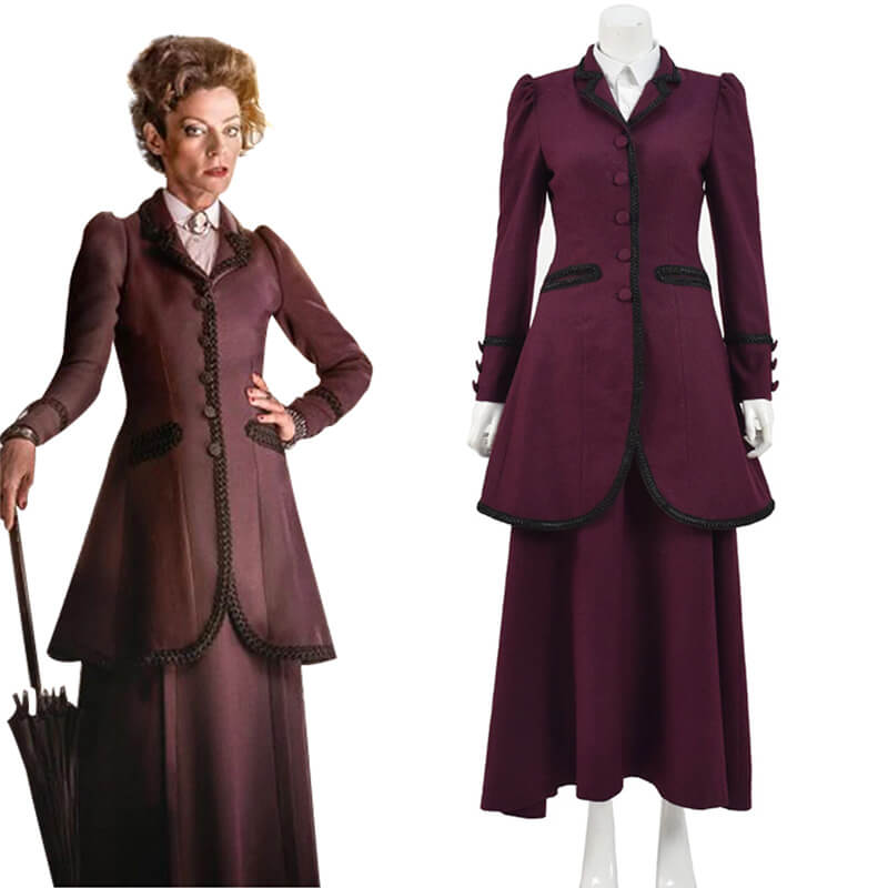 8th Doctor Who Cosplay The Master Missy Costume Suit Women Halloween Costume - ACcosplay