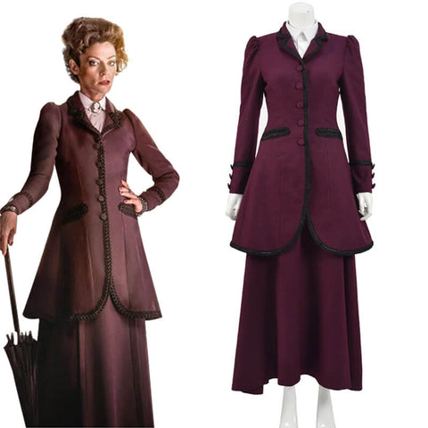8th Doctor Who The Master Missy Mistress Dress Suit Halloween Costume