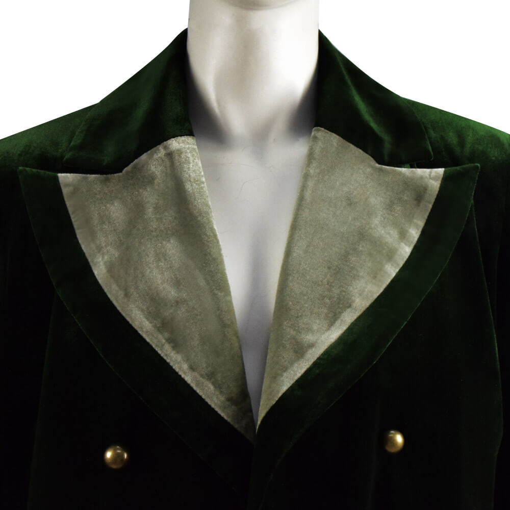 Doctor Who Eighth 8th Velvet Dark Green Coat Cosplay Costume Ideas - ACcosplay