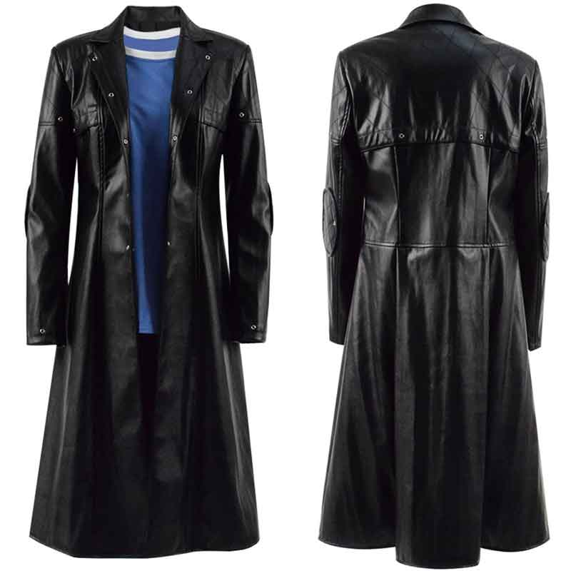 Alita Battle Angel Alita Coat Black Jacket Cosplay Costume