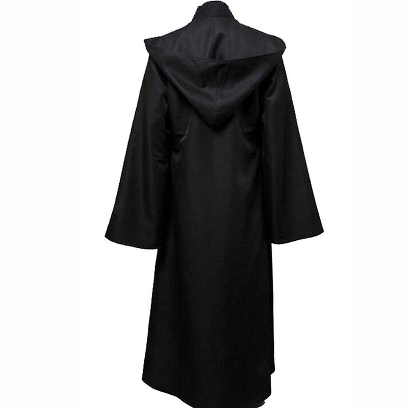 ACcosplay Anakin Skywalker Star Wars Jedi Cosplay Outfit Black Robe Costume - ACcosplay