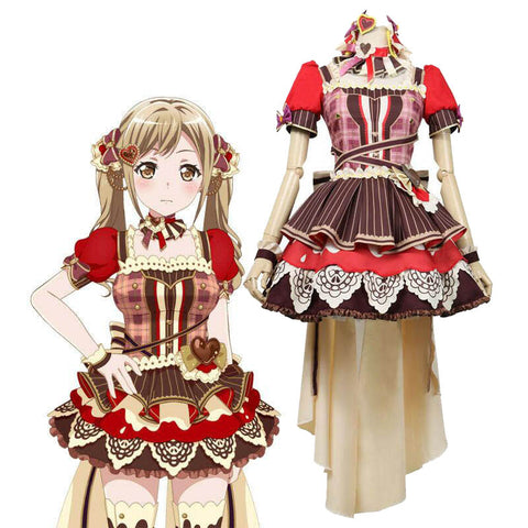BanGDream Girls Band Party Dustabata Ichigaya Arisa Cosplay Costume - ACcosplay