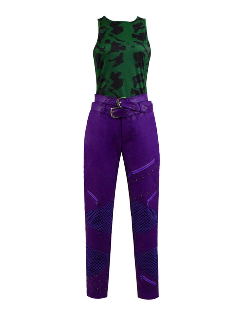 Disney Descendants Costumes Mal Dress Outfit Kids Adults Halloween Party Cosplay Costume - ACcosplay