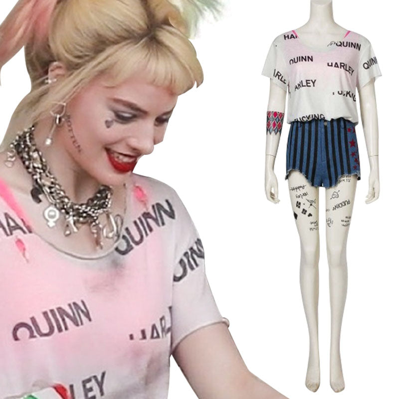 DC Birds Of Prey 2020 Harley Quinn Cosplay Costume Guide ACcosplay